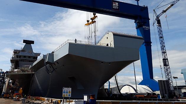 El Reino Unido quiere operar dos portaaviones simultáneamente