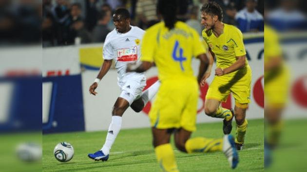 Eto'o marcó su primer gol para el Anzhí