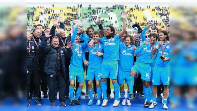 FC Zenit, triunfador de la Supercopa de Rusia