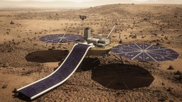 La extracción de agua en Marte sería factible