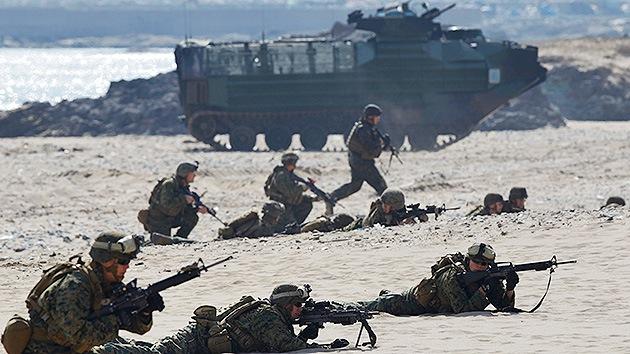 Empiezan los mayores ejercicios conjuntos de Corea del Sur y EE.UU.