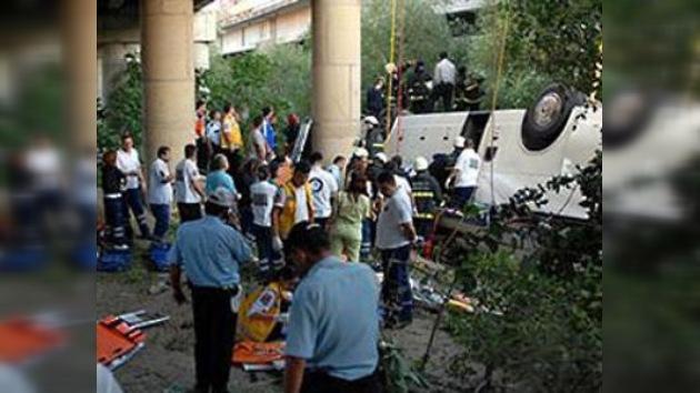 16 turistas rusos murieron en accidente de tráfico en Turquía