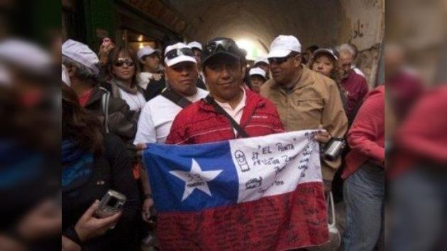 Los mineros chilenos presentan una demanda millonaria por negligencia