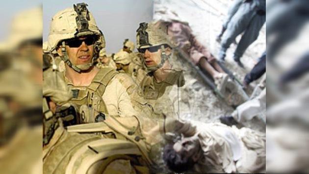 Piernas, un botín fotográfico de soldados de EE. UU. en Afganistán