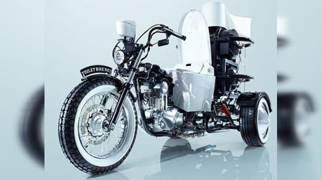 Japón nos vende la moto-retrete: un váter-móvil para 'abonar' el terreno al biocombustible