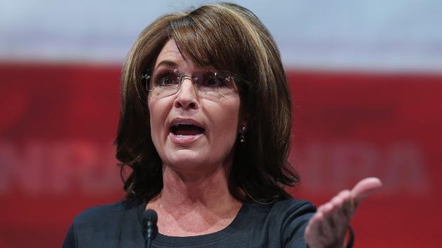 """Sarah Palin respecto a la situación en Siria: """"Que Alá lo resuelva"""""""