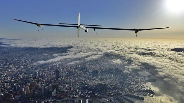 Fotos: El primer avión solar acaba su primer viaje duradero