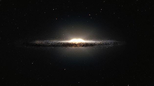 Nuevo mapa de la Vía Láctea: el corazón de la galaxia tiene forma de cáscara de cacahuete