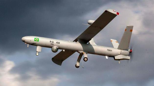 Brasil utiliza drones por primera vez para vigilar sus fronteras