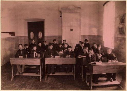 La historia de la escuela rusa en imágenes