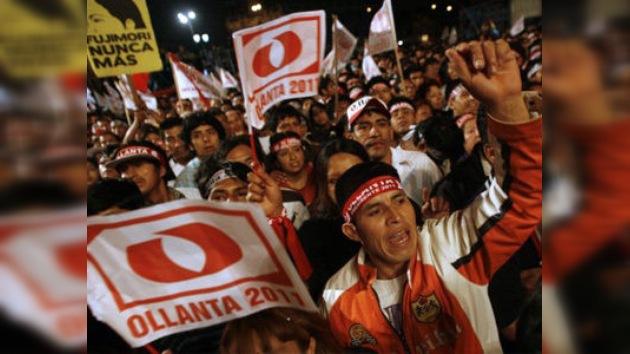 Según el recuento rápido, Humala ganaría con el 51% de los votos