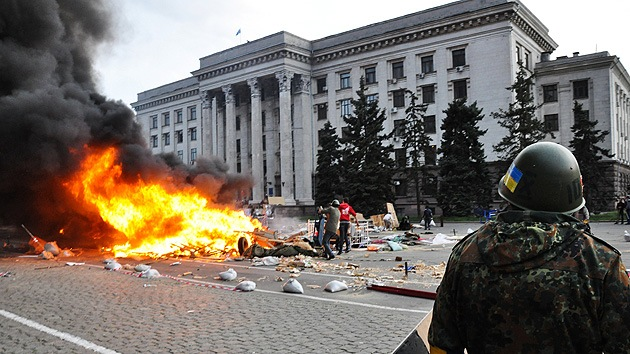 Rusia: La ONU confirma la participación del Sector Derecho en la masacre de Odesa el 2 de mayo