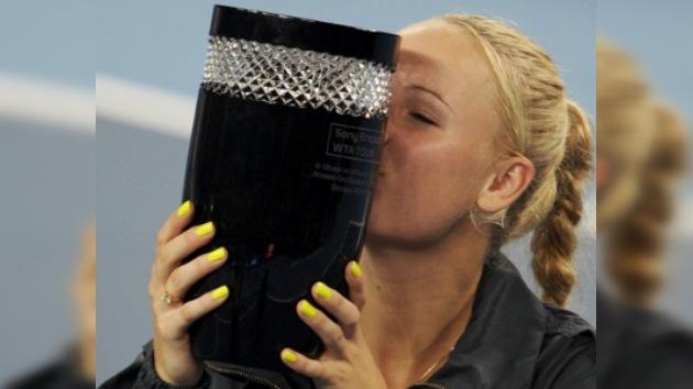 Caroline Wozniacki es la nueva número uno del mundo
