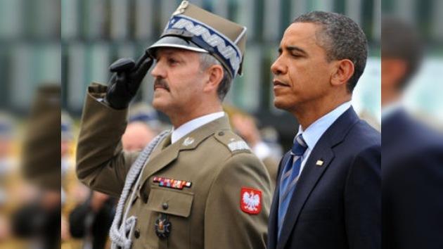 Base militar agendada en visita de Barack Obama a Polonia