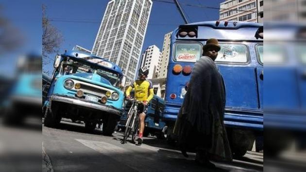 El paro de transportadores paralizará La Paz por 48 horas