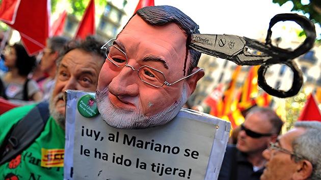 Los mineros españoles salen a la superficie contra los recortes