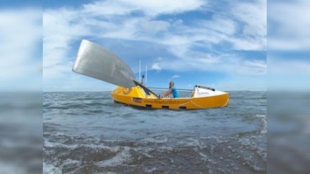 Katie Spotz cruzó el Atlántico a remo en 71 días