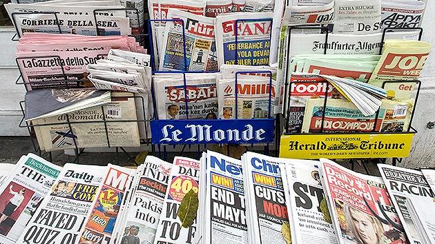 Cinco temas que no son noticia en los principales medios estadounidenses