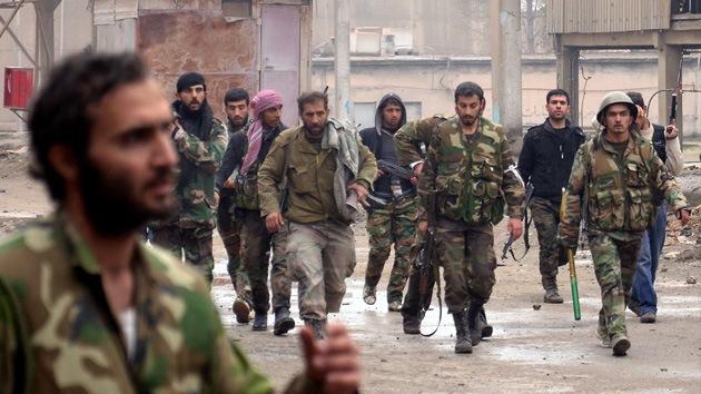 Video: Rebeldes sirios toman el control de una instalación nuclear