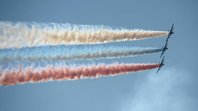 Aviadarts-2014: una competición pacífica para aviones militares