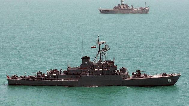 Irán envía al golfo Pérsico el destructor Bayandor, renovado y rearmado