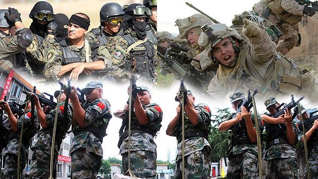 Mapa: ¿Cuáles son los ejércitos más fuertes del mundo?