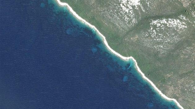 Unos misteriosos círculos frente a la costa de Croacia desconciertan a los expertos