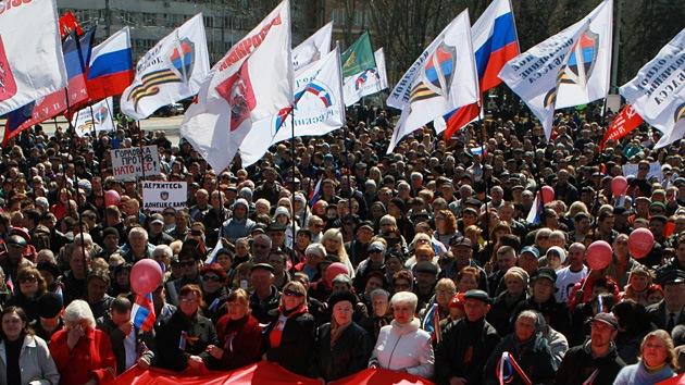 """""""Usar la fuerza en respuesta a las demandas legítimas del sureste de Ucrania es inaceptable"""""""
