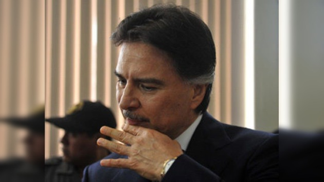 Fiscalía guatemalteca pide 10 años para expresidente Alfonso Portillo