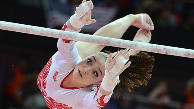 Londres 2012: Rusia conquista la plata en gimnasia artística femenina