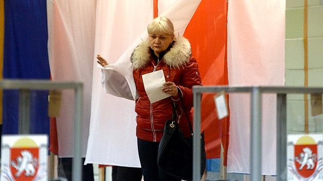 """Jefe de observadores: """"El referendo en Crimea transcurrió conforme a las normas internacionales"""""""