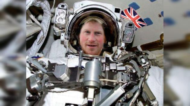 Enrique, ¿el primer príncipe astronauta?