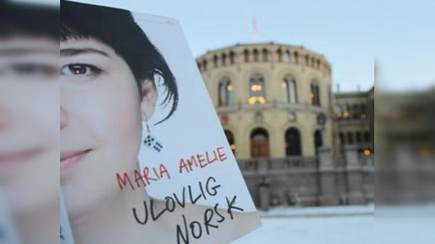 Deportada inmigrante ilegal rusa que alcanzó fama en Noruega como escritora