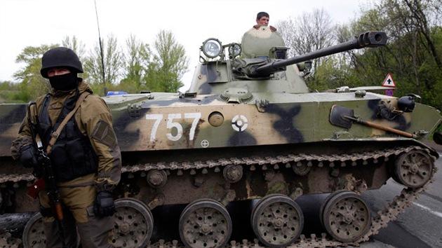 """Presidente autoproclamado de Ucrania: """"Nuestro Ejército está en alerta máxima"""""""