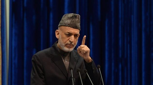 Karzai pide detener operaciones contra civiles para firmar el pacto con EE.UU.