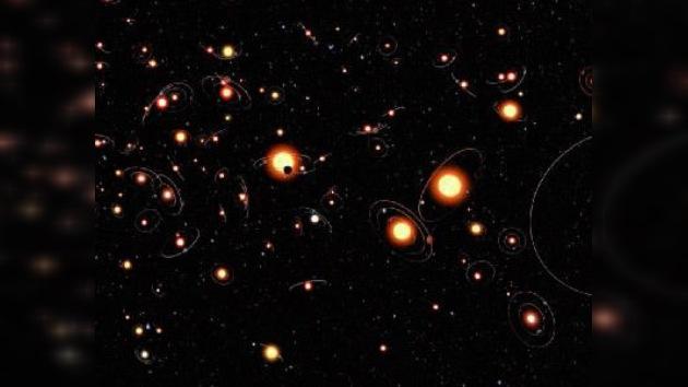 Descubren una galaxia enana oscura