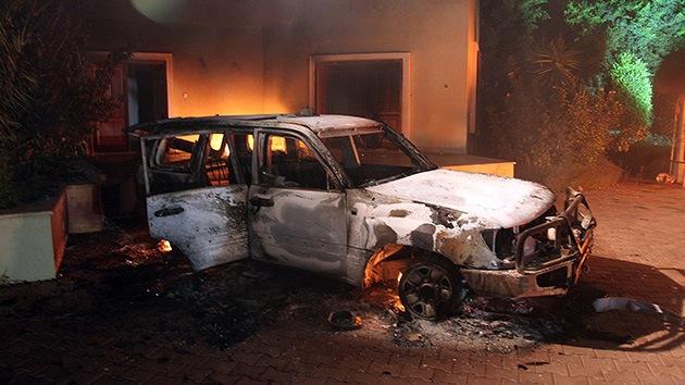 EE.UU. vincula el ataque a su consulado en Libia con el aniversario del 11-S