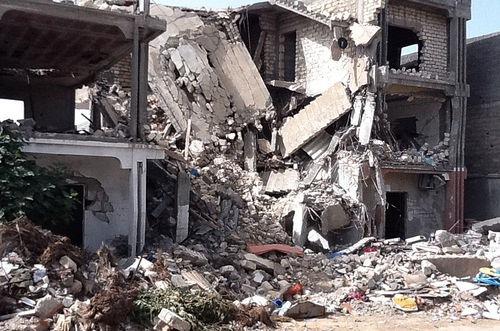 Libia, hecha una ruina