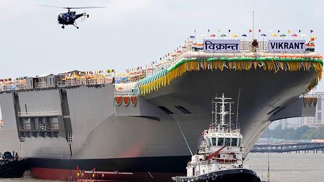 China, Japón e India, ¿embarcados en una 'guerra fría' por los mejores portaaviones?