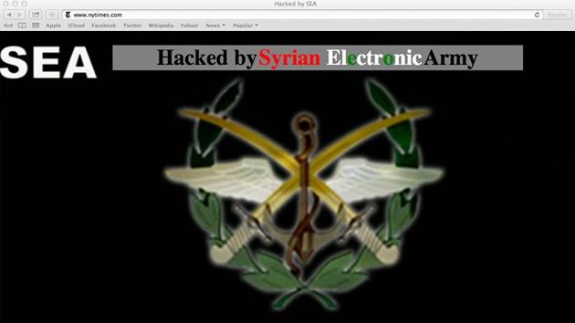 El Ejército Electrónico Sirio ataca 'The New York Times', el 'Huffington Post' y Twitter