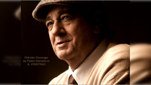 Plácido Domingo prolongó su contrato hasta 2013 y actuará como Pablo Neruda
