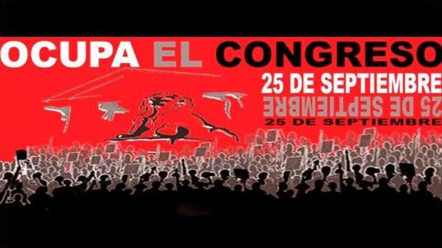 Anonymous se suma a la acción de 25-S Ocupa el Congreso
