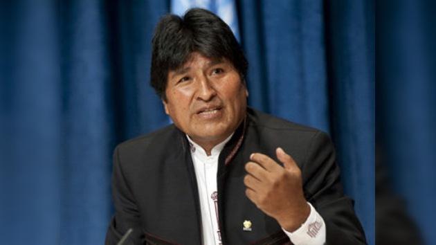 Evo Morales critica el capitalismo que perjudica a la 'Madre Tierra'