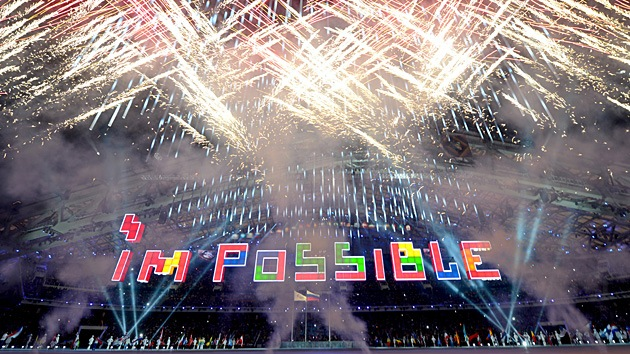 Ceremonia de clausura de los Juegos Paralímpicos de Sochi
