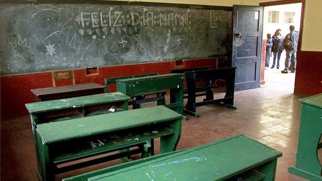 Del campo a la escuela: Perú lleva a los niños al pupitre