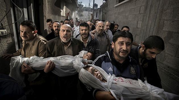 Foto de niños muertos en Gaza gana el World Press Photo