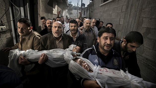 Foto de niños muertos en Gaza gana el World Press Photo