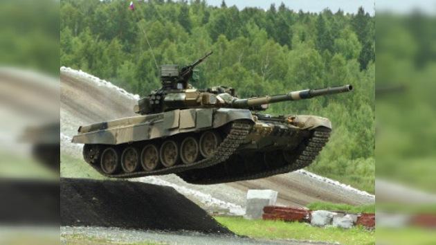 Rusia, el líder mundial en exportación de tanques
