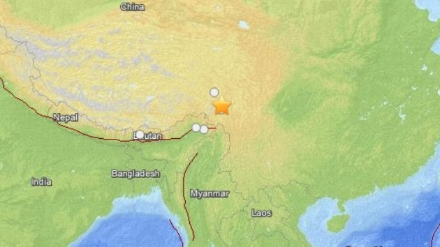 Un sismo de magnitud 5,7 sacude el sur de China