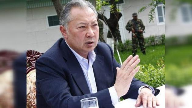Kirguistán solicita a Bielorrusia la extradición del ex presidente Bakíev